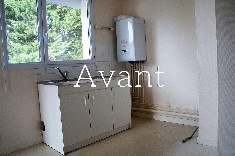 Petite Cuisine Appartement petite cuisine rénovée dans un appartement à angers