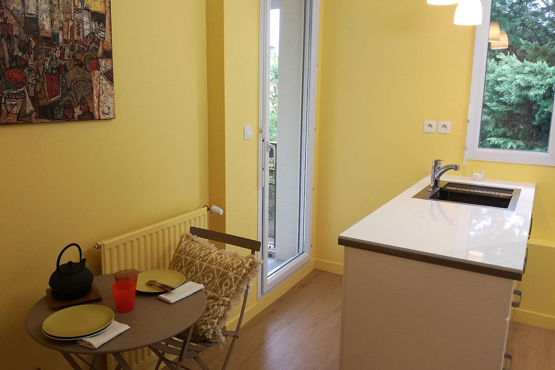 Petite cuisine d'appartement