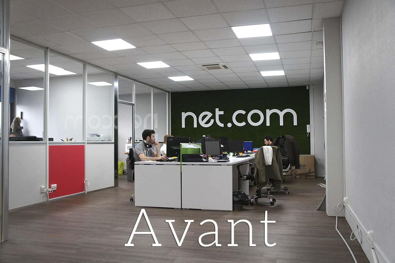Aménagement et décoration d'une Agence Web